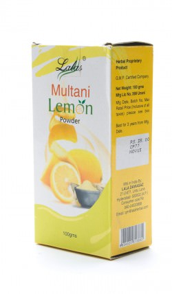 Muitani Lemon powder 100г